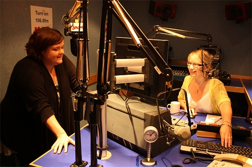 Sue and Sophie in their Oxford studio