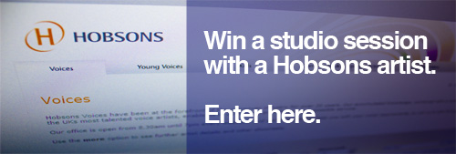 Win a voice session - click to enter