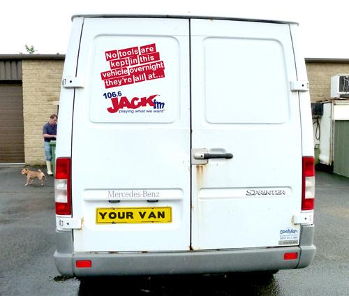 Jack up your van