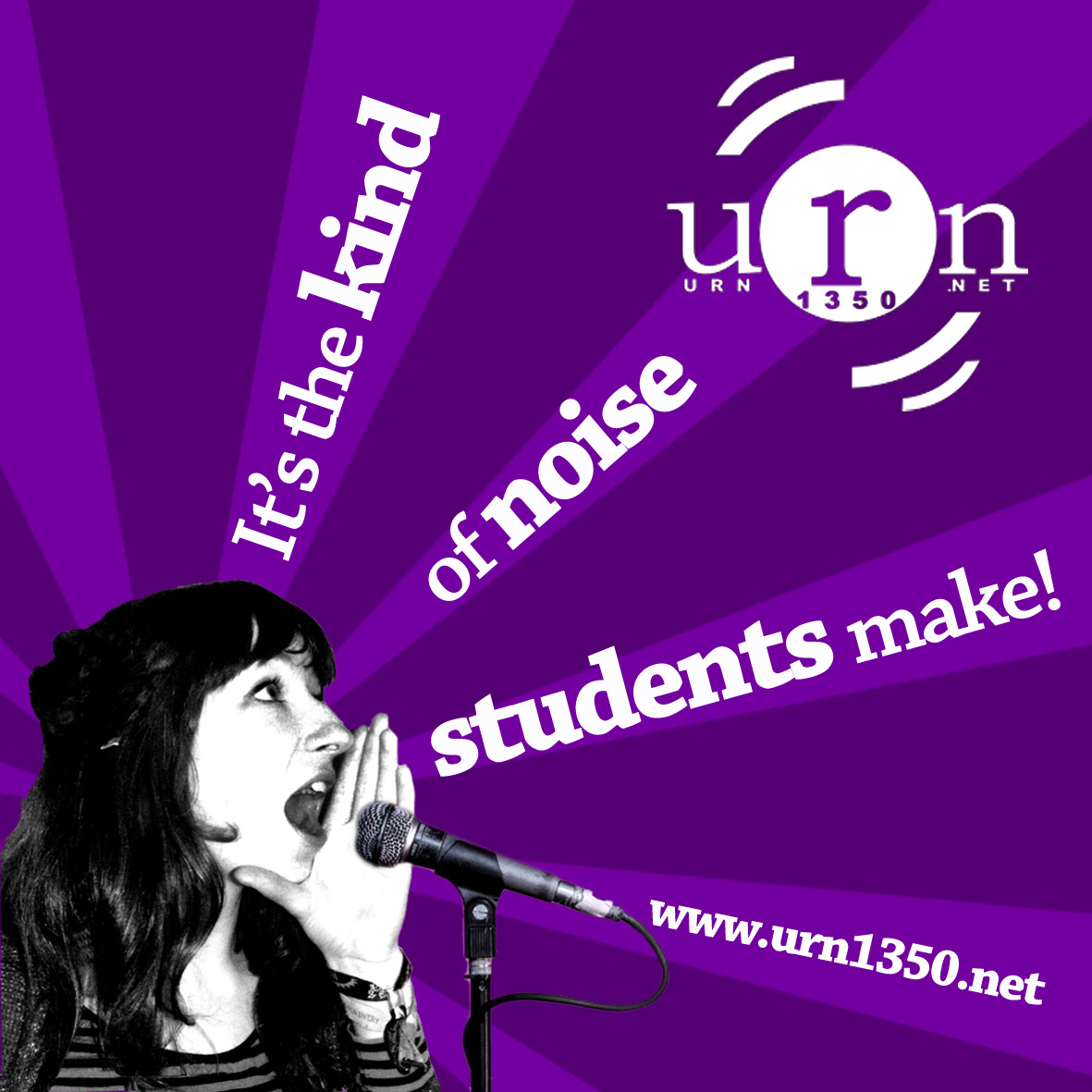 URN: the kind of noise students make