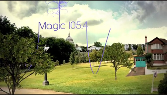 Magic 105.4 ad