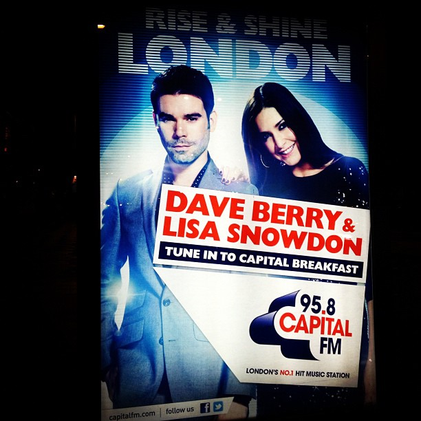 Capital launches poster campaign in London and Birmingham