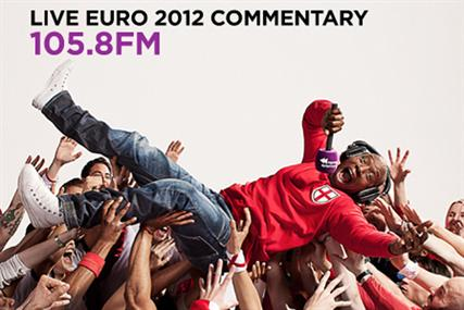 Absolute Radio runs outdoor ads for Euro 2012