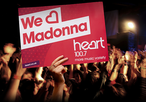 We Heart Madonna banner