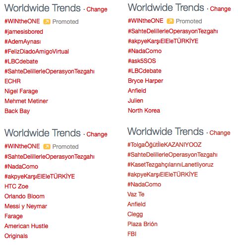 LBC debate trending