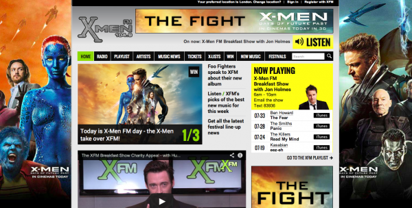 Xmen FM screenshot