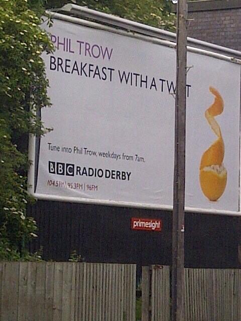 Phil Trow on BBC Radio Derby