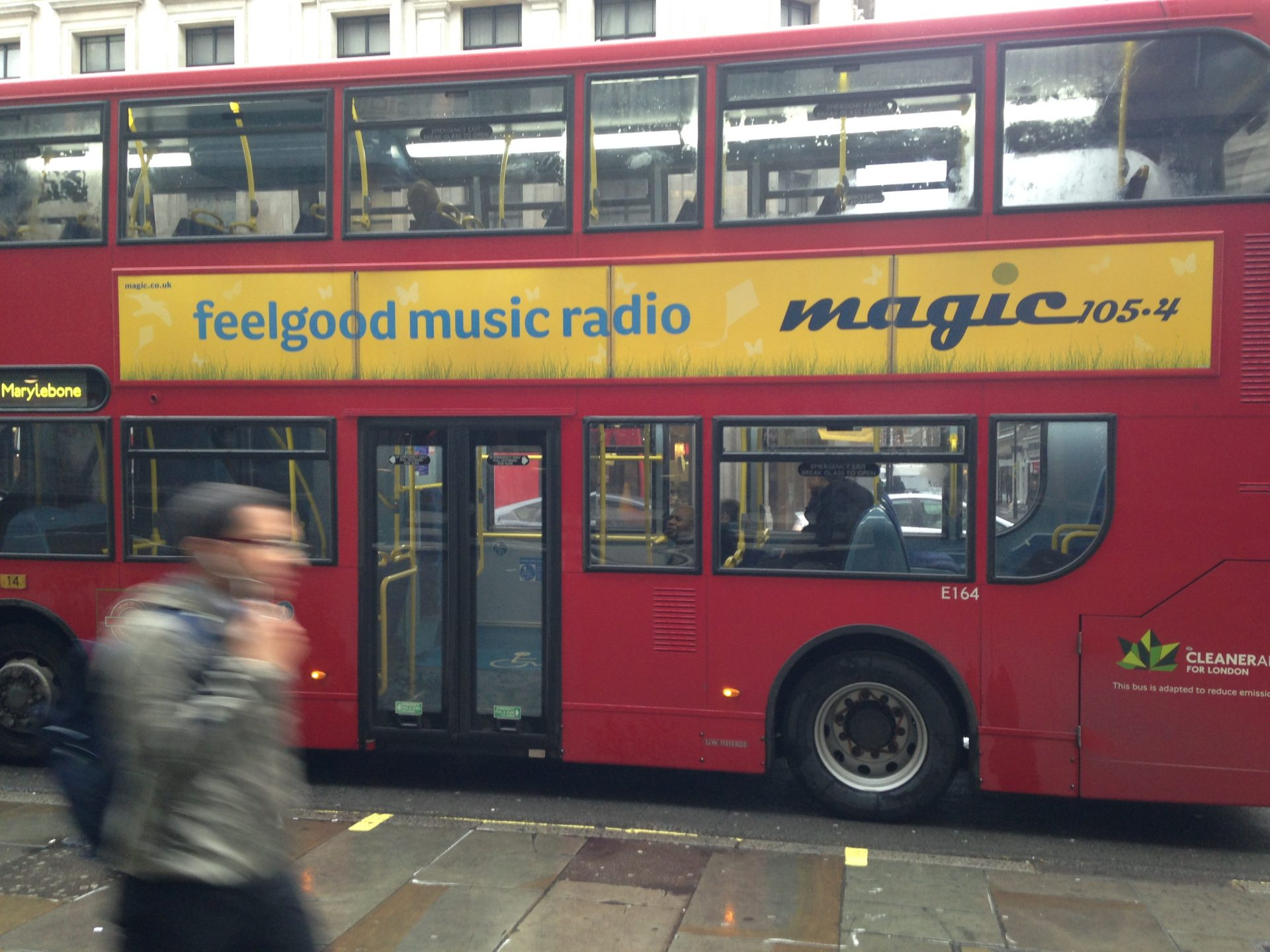 Magic bus side in london