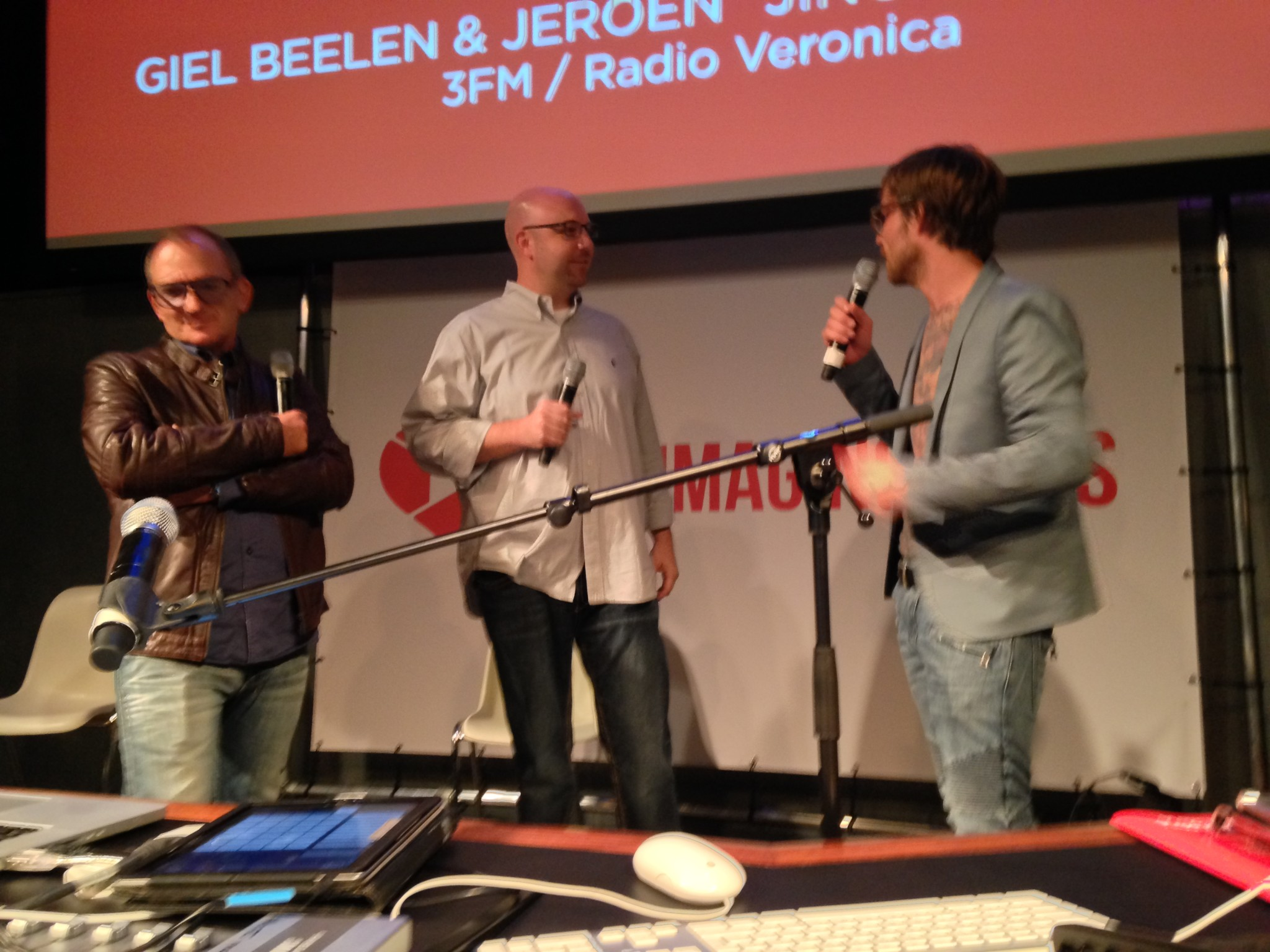 "Giel Beelen, Ryan Drean and Jeoen ""Jingle"" Van Inkel"
