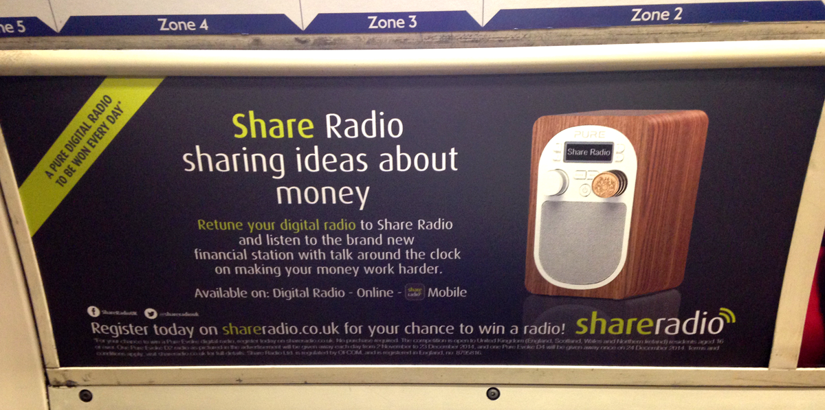Share Radio tube ad
