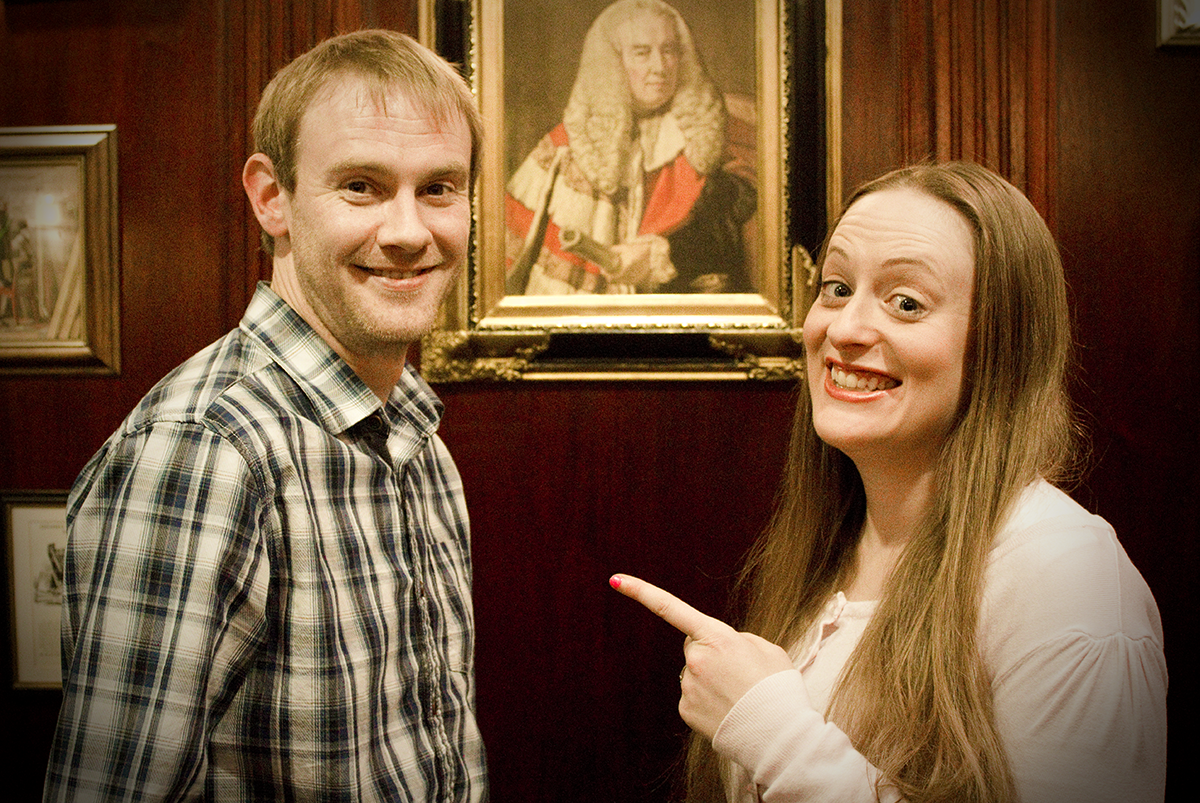 Richard and Hayley - old master shot