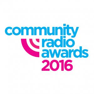 Community Radio Awards 2016 logo