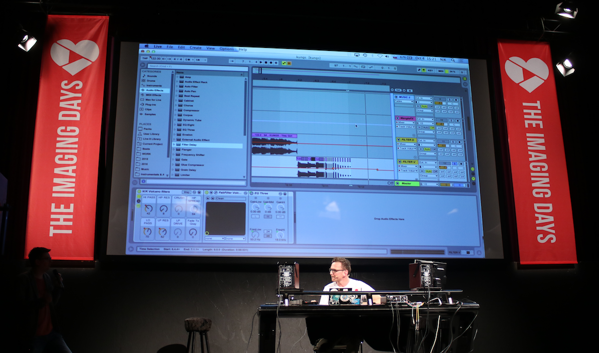 Dr Hitmix Nik with Ableton Live