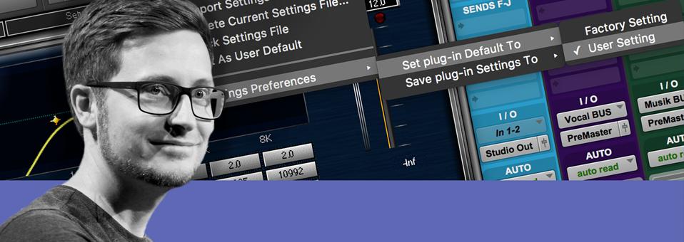Quick tip: user default preset