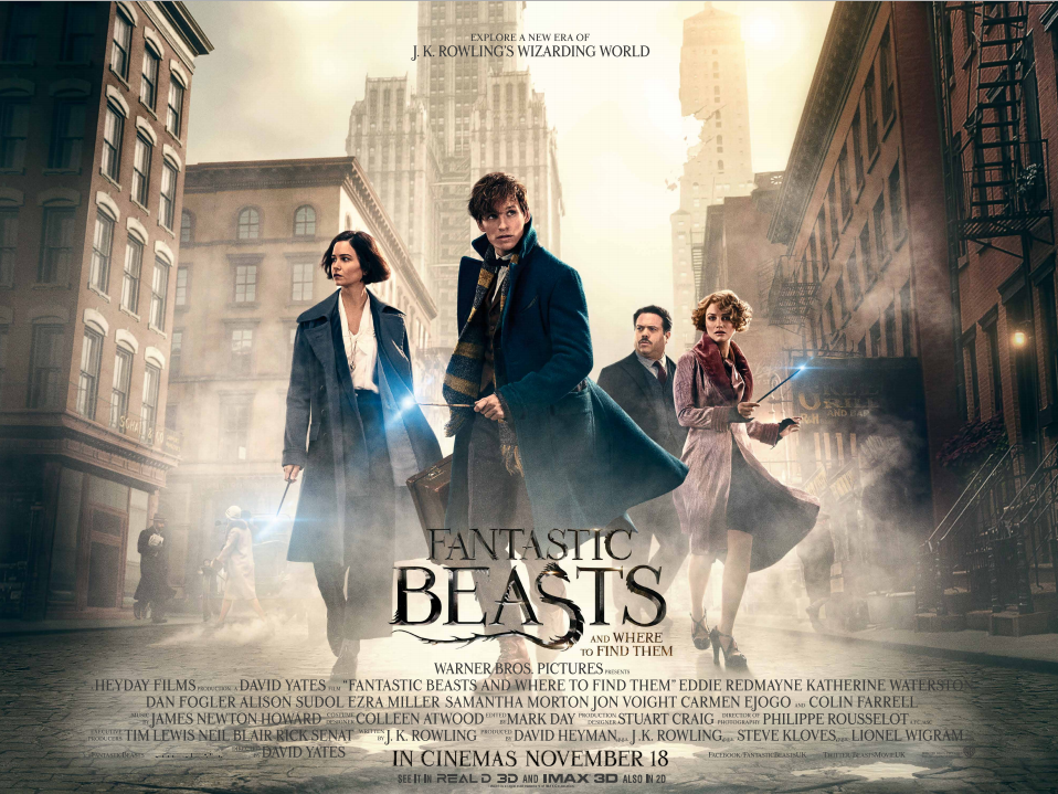 Fantastic Beasts key art