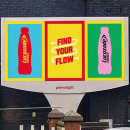 Lucozade syncs outdoor and radio ads